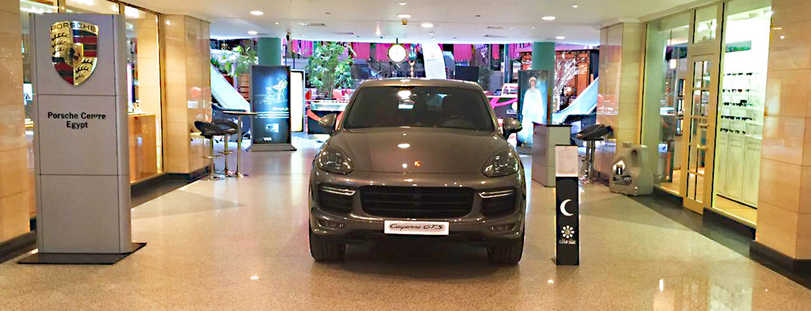 Until Saturday Juli 2nd, 2016 | Porsche Cayenne GTS in First Mall