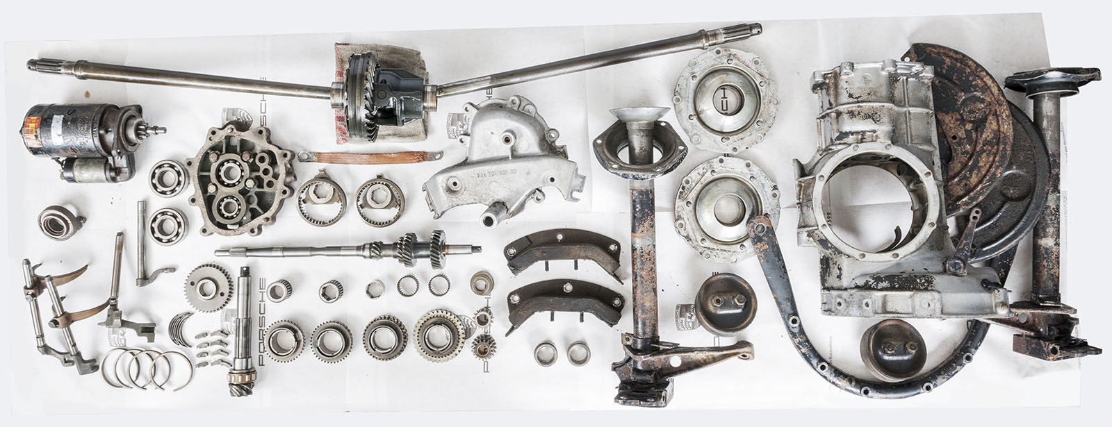 Porsche - Transmission - Disassembly