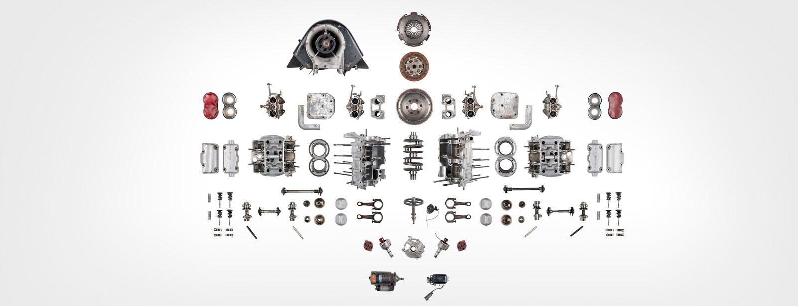 Porsche - Engine - Disassembly