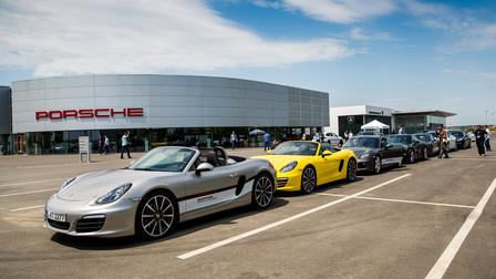 Porsche în România
