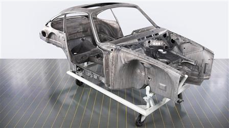 Porsche - Carrosserie et décapage
