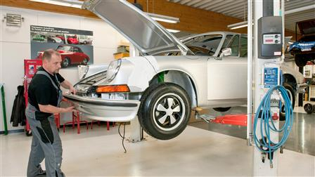 Porsche - Final assembly and completion