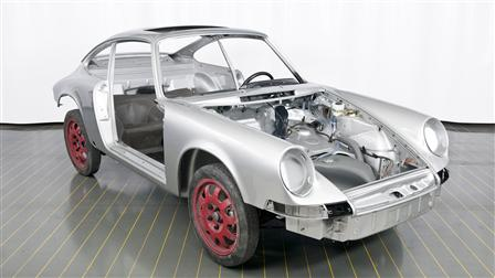 Porsche - Bain de cataphorèse et peinture