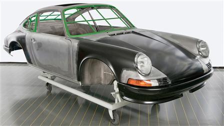 Porsche - Restauration de la carrosserie