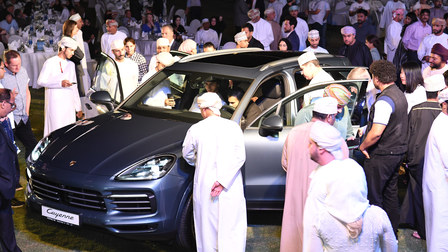 Porsche Centre Oman launches the new Cayenne in Muscat