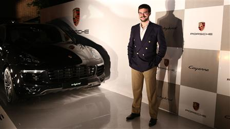 Porsche sponsors the Flamenco Night at the Spanish Embassy