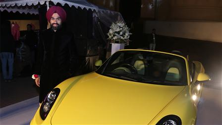 Porsche Sponsors the Mughlai Night at Hazoori Bagh (Heritage Sight)