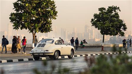 Porsche 356 in Mumbai