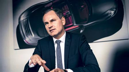 Oliver Blume, CEO of Porsche AG