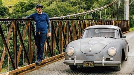Matt Hummel with his Porsche 356 A 1600 (1956)