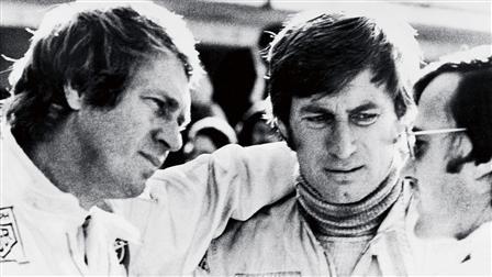Steve McQueen (left), Siegfried Rauch (right)