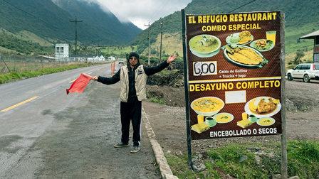Porsche Lunchtime in Ecuador