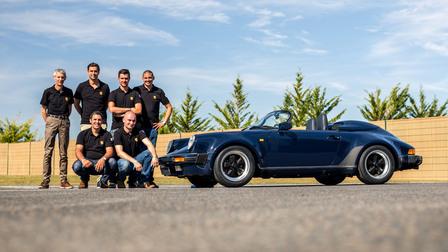 Porsche - Concours de Restauration