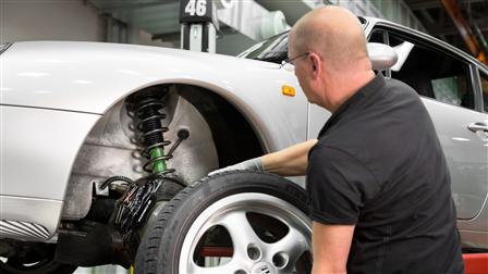 Porsche Shock absorber 993