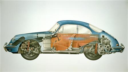 Porsche 1962, 356B Coupé Phantombild