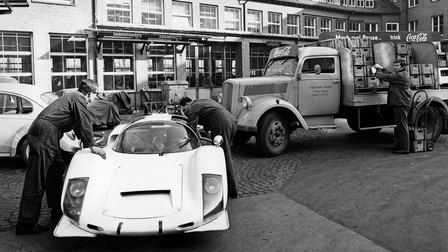 1966: Porsche Type 906 in Werk 1