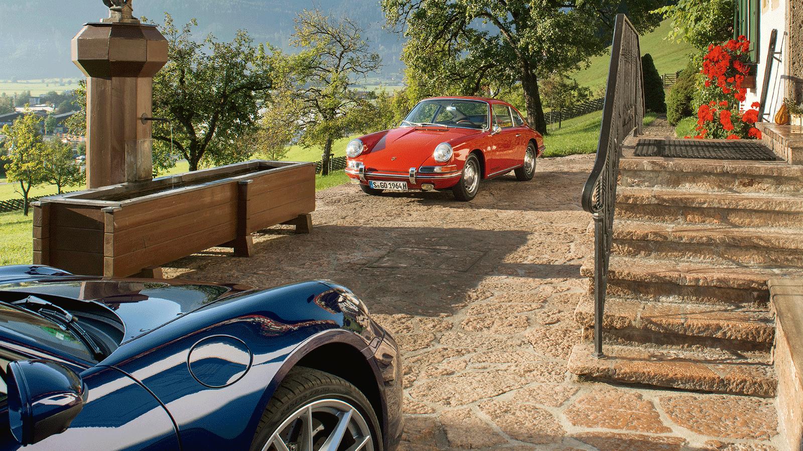 Porsche The Porsche legend in the electromobility age.