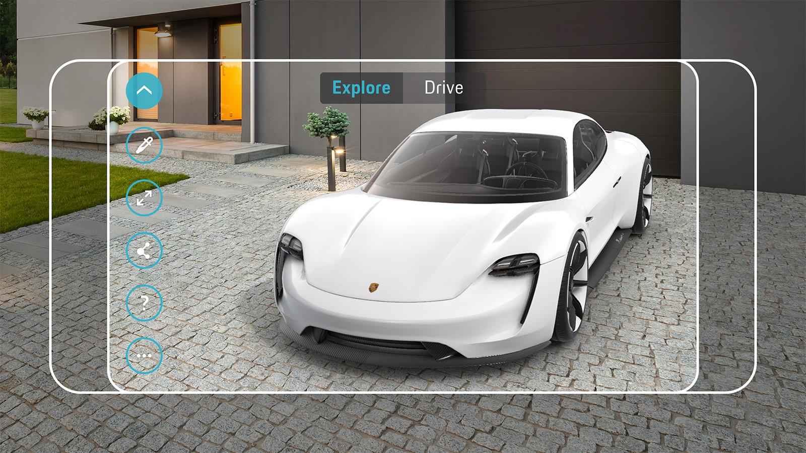 Porsche Zukunft zum Greifen nah