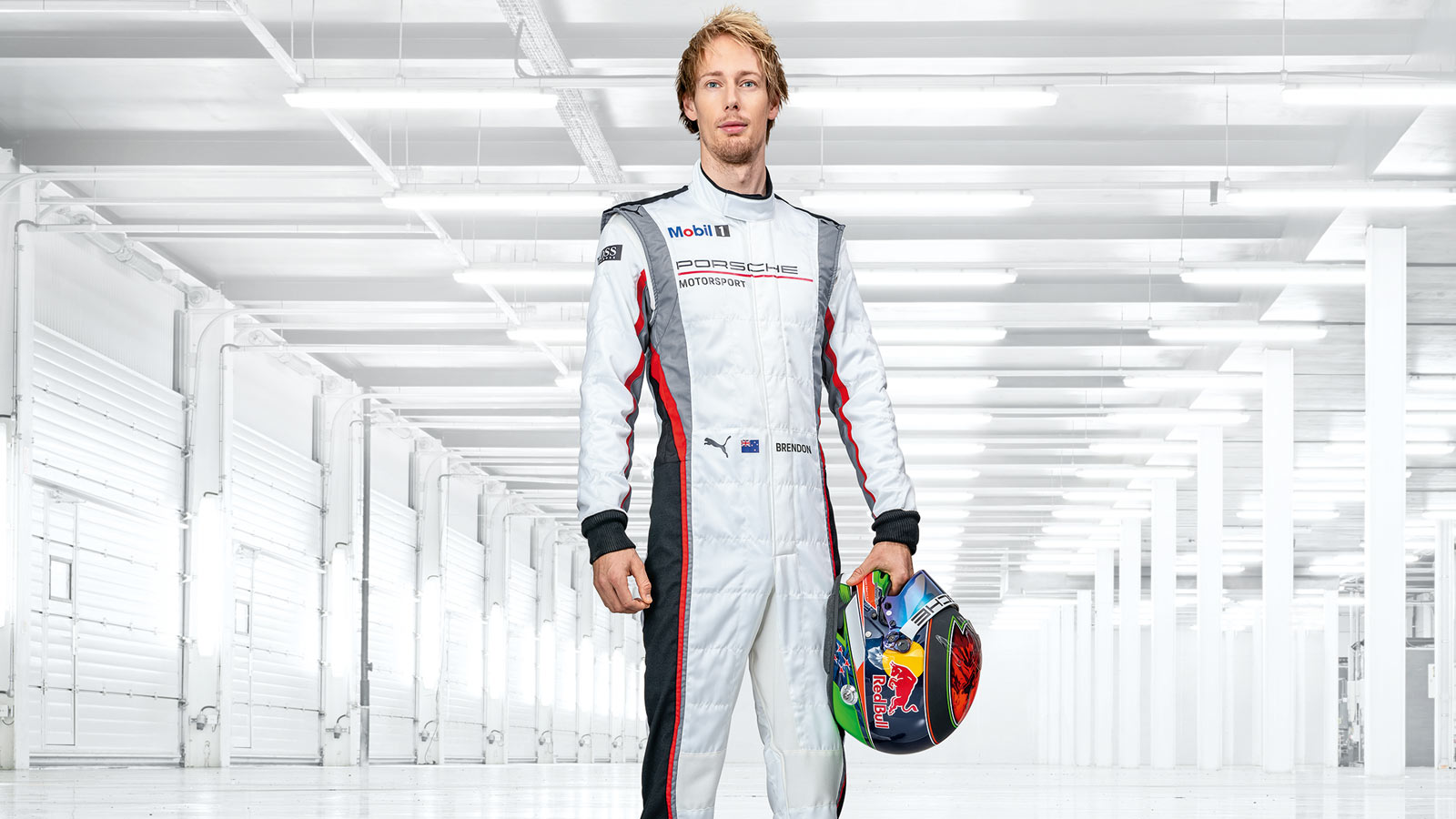 Porsche - Brendon Hartley (test and development driver) NZL