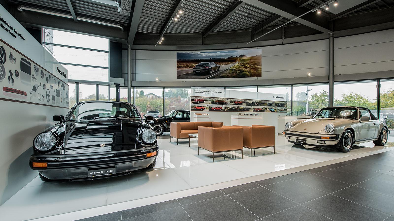 Porsche Centre Zug