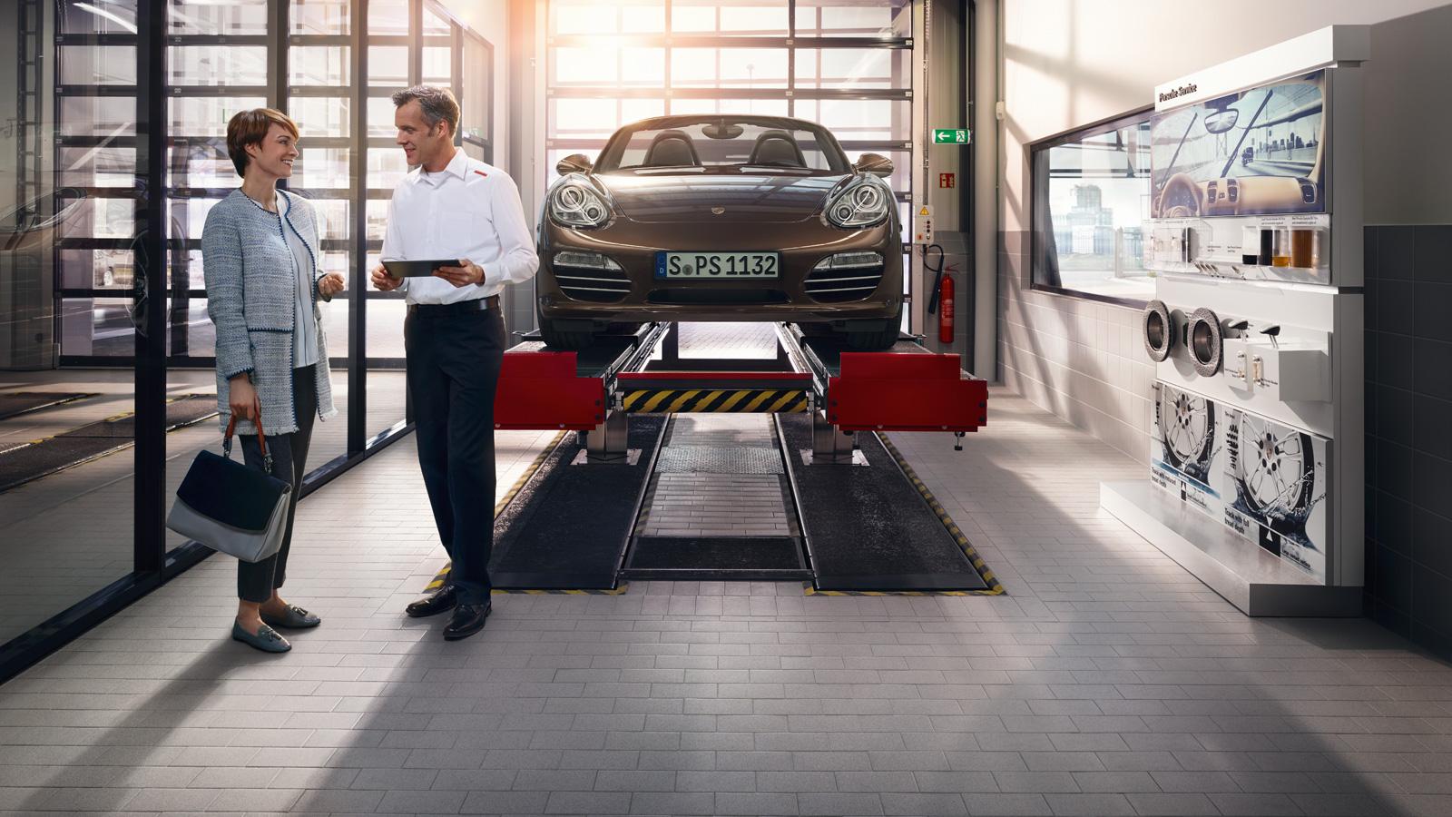 Porsche - Transparencia