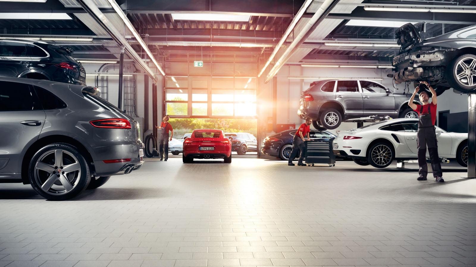 Porsche - Ahorro de tiempo