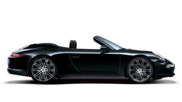 Porsche 911 Carrera 4 Cabriolet Black Edition