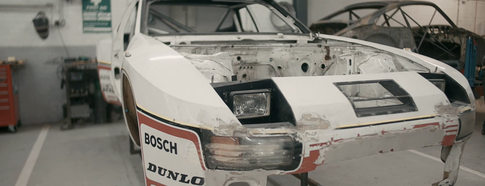 Porsche Cars GB - 924 GTP Restoration